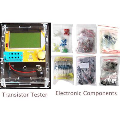 Mega328 Transistor Tester Electronic Components Led Diodes Transistor Resistance