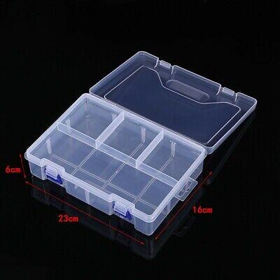 Contenitore IN Plastica Conservazione Scatola Custodia 23cm 16cm 6cm Box Kit New