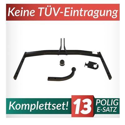 Roomster Typ 5J E-Satz 7pol Set top AHK /& ES Auto Hak Anhängerkupplung starr