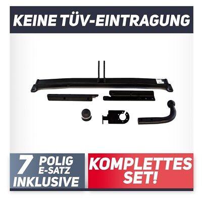 Anhängerkupplung starr+ES 13p ABE Für Nissan Micra V K14 5-Tür