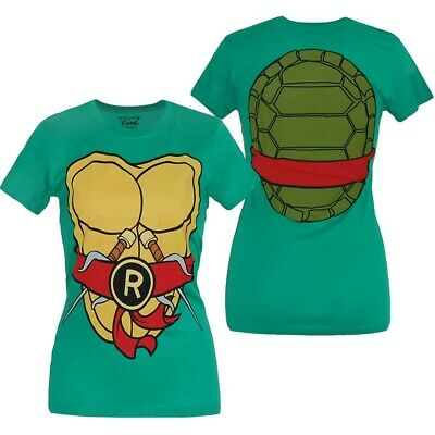 Teenage Mutant Ninja Turtles Raphael Costume Junior Women's T-Shirt