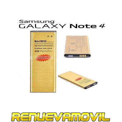 Bateria Samsung Galaxy Note 4 N9100 N910F EB-BN910BBE Alta Capacidad 4200mAh