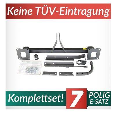 Für Mercedes-Benz GLE C292 Coupe ab 15 Kpl. Anhängerkupplung starr+E-Satz 7p