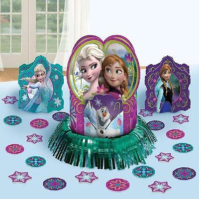 Frozen Disney Movie Princess Birthday Party Centerpiece Table Decorating Kit - Frozen Center Pieces