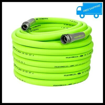 5/8 in x 100 ft Garden Water Hose Flexible Hybrid Polymer Kink Free Lightweight