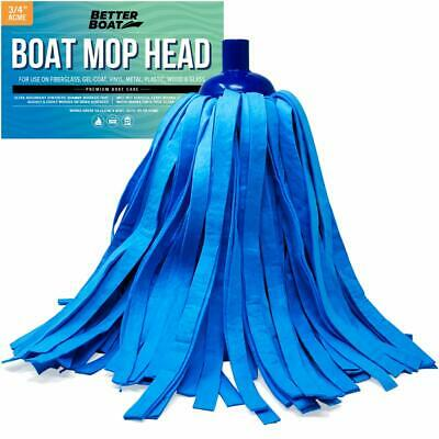 Better Boat Synthetic Chamois Mop Head Boat Cleaning Products Wash Mop for