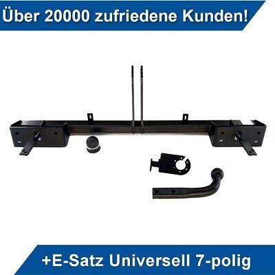 Für Fiat PANDA III 4x4 4WD ab 2012+E-SATZ 13p UNIVERSAL Anhängerkupplung abn