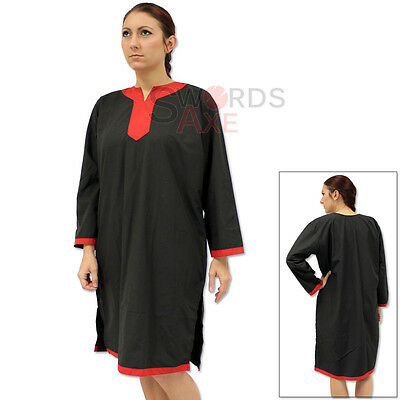 Squire Tunic of the Teutonic Knights Under Chivalric Black & Red - Squire Costume