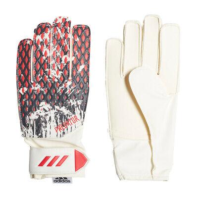 adidas Kinder Predator 20 Manuel Neuer Torwarthandschuhe rot/weiß - Weiße Handschuhe Kind