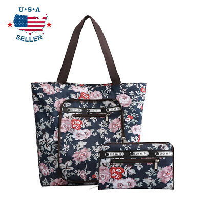 Cute Tote Bags (Foldable Tote Bag for Women Top Zipper Closure Premium Quality Lightweight)