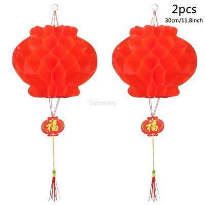 2pcs Chinese Red Lanterns Festival Decorations for New Year Spring Festival Deco](Decorations For Chinese New Year)