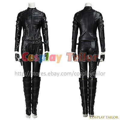 Green Arrow Black Canary Dinah Laurel Lance Cosplay Costume Halloween - Black Canary Costume Arrow