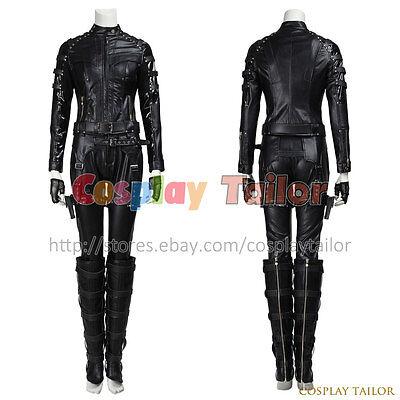 Green Arrow Black Canary Dinah Laurel Lance Cosplay Costume Halloween - Arrow Black Canary Costume