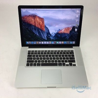 "Apple 2011 MacBook Pro 15"" 2GHz I7 500GB 8GB MC721LL/A + C Grade + Warranty!"