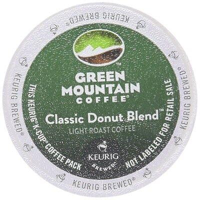 Green Mountain  Classic Donut Blend, 96 k cups read description
