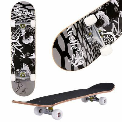"31"" X 8"" Complete Skateboard, 9 Layer Maple Wood Long Board Deck Profession~"