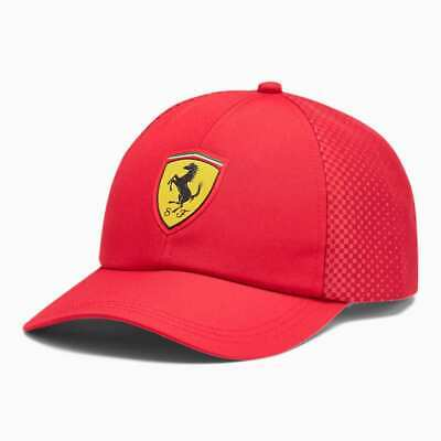 Ferrari Baseball Hat Prancing Horse Shield Officially Licensed NWT Adjustable