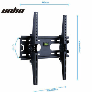 Tv Wall Bracket Mount Tilt For 26 27 32 37 40 42 46 50 Inchs
