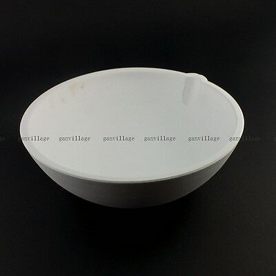 10000 Grams SiO2 Silica Quartz Crucible Smelting Bowl Dish Melting Gold Silver