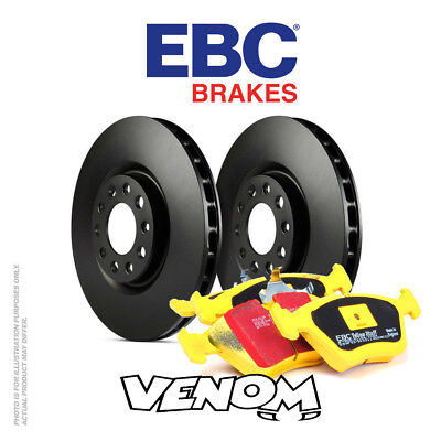 EBC Rear Brake Kit Discs & Pads for Seat Exeo 2.0 Turbo 200 2009-2013