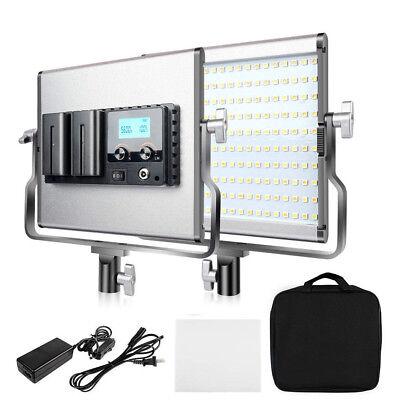 Travor Bi-Color LED Video Light 3200-5600K CRI96 for Shooting Studio Photography