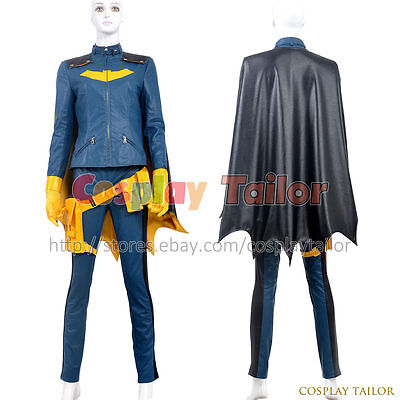 Batman: Arkham City Batgirl Cosplay Catwoman Barbara Gordon Costume Party Sexy