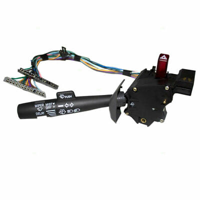 Turn Signal Wiper Hazard Warning Switch For Cadillac Oldsmobile Chevy GMC Pickup
