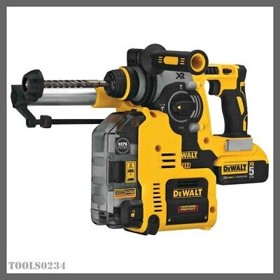 20v Max Xr Rotary Hammer Kit Won-board Dust Extractor Dewalt Dch273p2dho