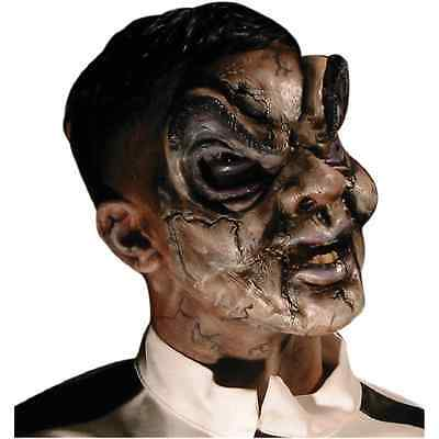 Puppet Ventriloquist Dummy Fancy Dress Halloween Costume Makeup Latex Prosthetic