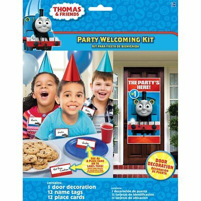 Thomas & Friends Birthday Party Welcoming Kit (25 ct) Party Supplies  - Thomas Party Supplies