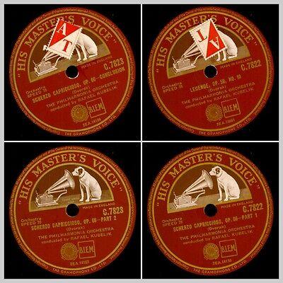 PHILHARMONIA ORCH. & KUBELIK Dvorak: Scherzo Capriccioso Op. 66  2x 78rpm  GS816
