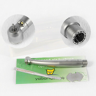 Dental Led High Speed Handpiece Air Turbine E-generator 2 Hole2h Yabangbang