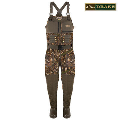 New Men 3mm MAX-4 Camo Fishing//Hunting Neoprene Wader Lug Boots Size 12 Stout