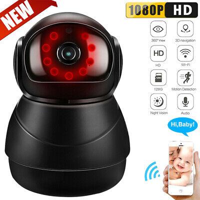 Wireless 1080P Wi-Fi IP Pet Dog Baby Monitor Security Camera Two-way Audio Hot