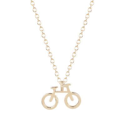 Bicycle Necklace Stylish Small Fresh Bike Pendant Jewelry Unisex Neck Chain Gift
