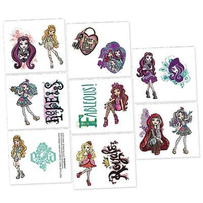 Ever After High Mattel Fashion Doll Birthday Party Favor Temporary Tattoos
