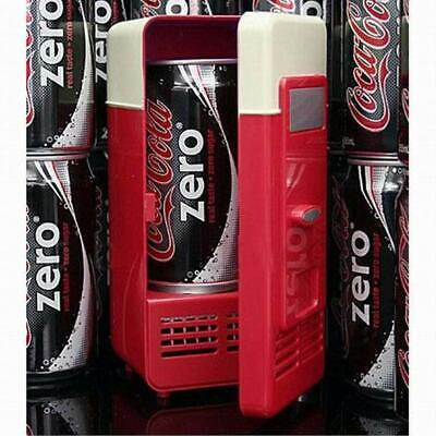 USB Mini Fridge Cooling and Heating Dual-use Small Refrigerator For Drink