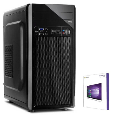 GAMER PC AMD RYZEN 5 2400G 8GB 256GB M.2 SSD, RX VEGA 11 Grafik, Win10 Gaming