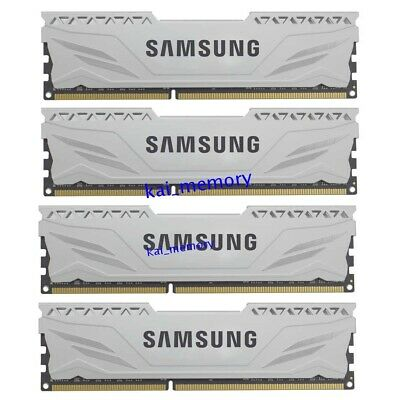 For SAMSUNG 4X 8GB PC3-12800 DDR3 1600MHz 240Pin Unbuffered DIMM Desktop Memory