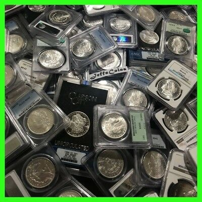 ✯Estate Coin Lot US Morgan Silver Dollar ✯1 PCGS or NGC UNC ✯ O, S, P, CC Mint✯