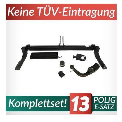 Anhängerkupplung starr Für Peugeot 307 Kombi 02-05 13-pol E-Satz