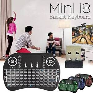 I8 2.4G Wireless Touchpad Keyboard Adjustable Air Mouse Backlight Huntingdale Monash Area Preview