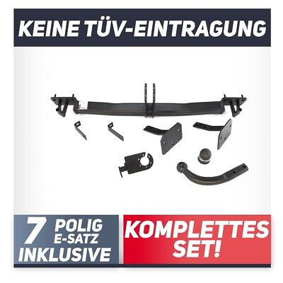 Anhängerkupplung abnehmbar 5er Touring Typ E61 E-Satz 7pol set top Auto Hak