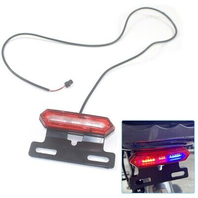 Luz Trasera LED Advertencia Seguridad for 36V/48V Bicicleta Eléctrica La