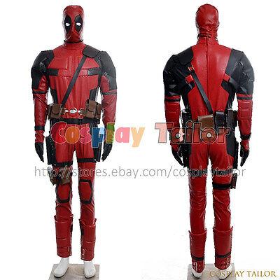 Deadpool Cosplay X-men Jumpsuit Costume Halloween Party Uniform Amazing Clothing - Amazing Halloween Costumes For Men