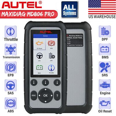 Autel MD806 Pro OBD2 Auto Diagnostic Code Reader Scanner ABS SRS SAS BMS EPB