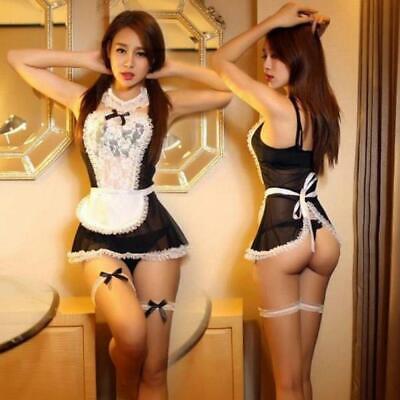 Sexy Spitze Kostüm Cosplay Französisch Maid Style Dessous - Sexy Französisch Maid Outfits
