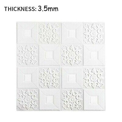 Home Decoration - 10PC Kitchen Tile Stickers Bathroom Mosaic Sticker Self-Adhesive Wall Home Decor