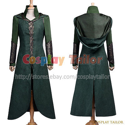 The Hobbit: The Desolation of Smaug Elf Tauriel The Lord of the Rings Cosplay ](Elf Costume Lotr)