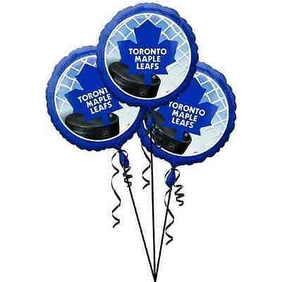 Toronto Maple Leafs NHL Pro Hockey Sports Party Decoration Mylar Balloons](Hockey Balloons)